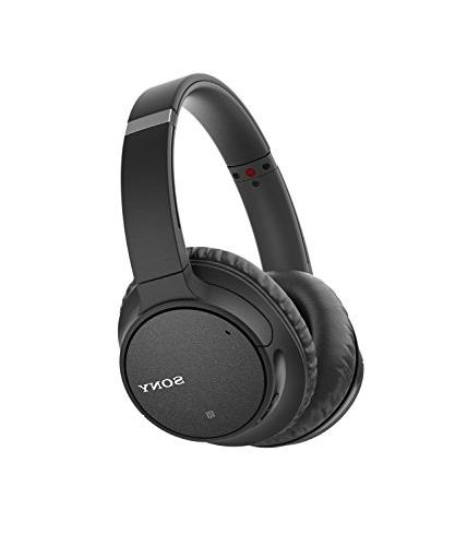 Sony WH-CH700N Wireless Canceling Headphones, Black
