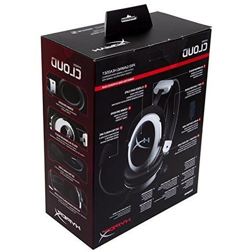 HyperX II Headset - Sound Memory Ear Aluminum Frame - Multi Platform Headset with PRO, One