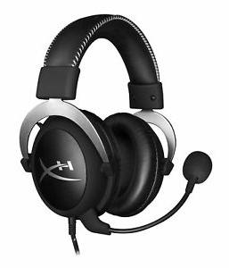 cloud silver headband gaming headset for sony