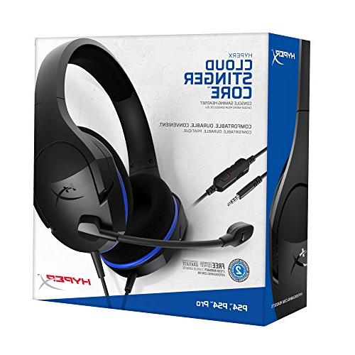 HyperX Cloud Stinger - PS4, Playstation 4, Switch, Xbox headset, Over-ear VR