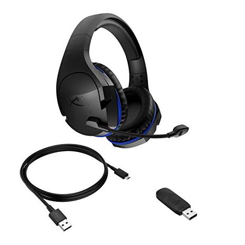 HyperX Stinger – Headset Battery - with Playstation 4, Nintendo Immersive Audio - HX-HSCSW-BK