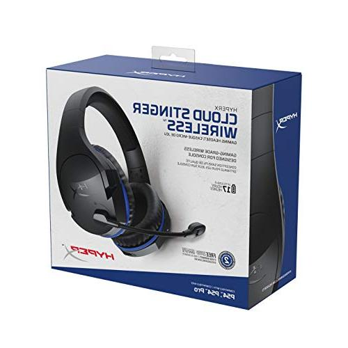 HyperX Stinger – Gaming Headset Up to Battery with Nintendo Switch. Immersive in-Game Audio HX-HSCSW-BK