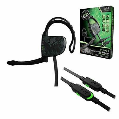 Gioteck EX-03 Wired Headset For Microsoft Xbox 360, Black