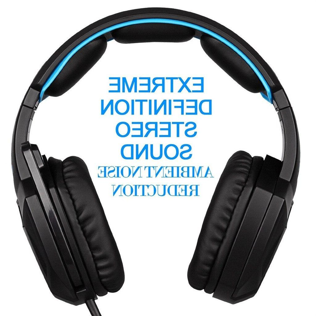 <font><b>SADES</b></font> Headphones With lights Mic 3.5+USB <font><b>Headset</b></font> for Computer 517#2