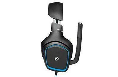 Logitech G430 DTS Headphone X and Surround Headset for