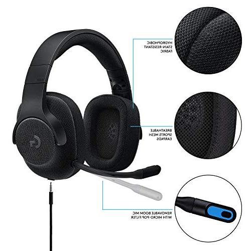 Logitech Wired Gaming with DTS Headphone: for PRO, One S, Nintendo –