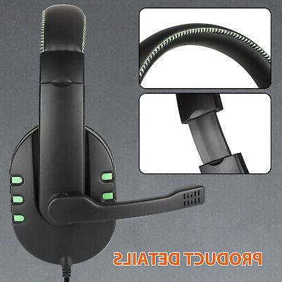 Stereo Mic Headset For PS4/Nintendo Switch/Xbox