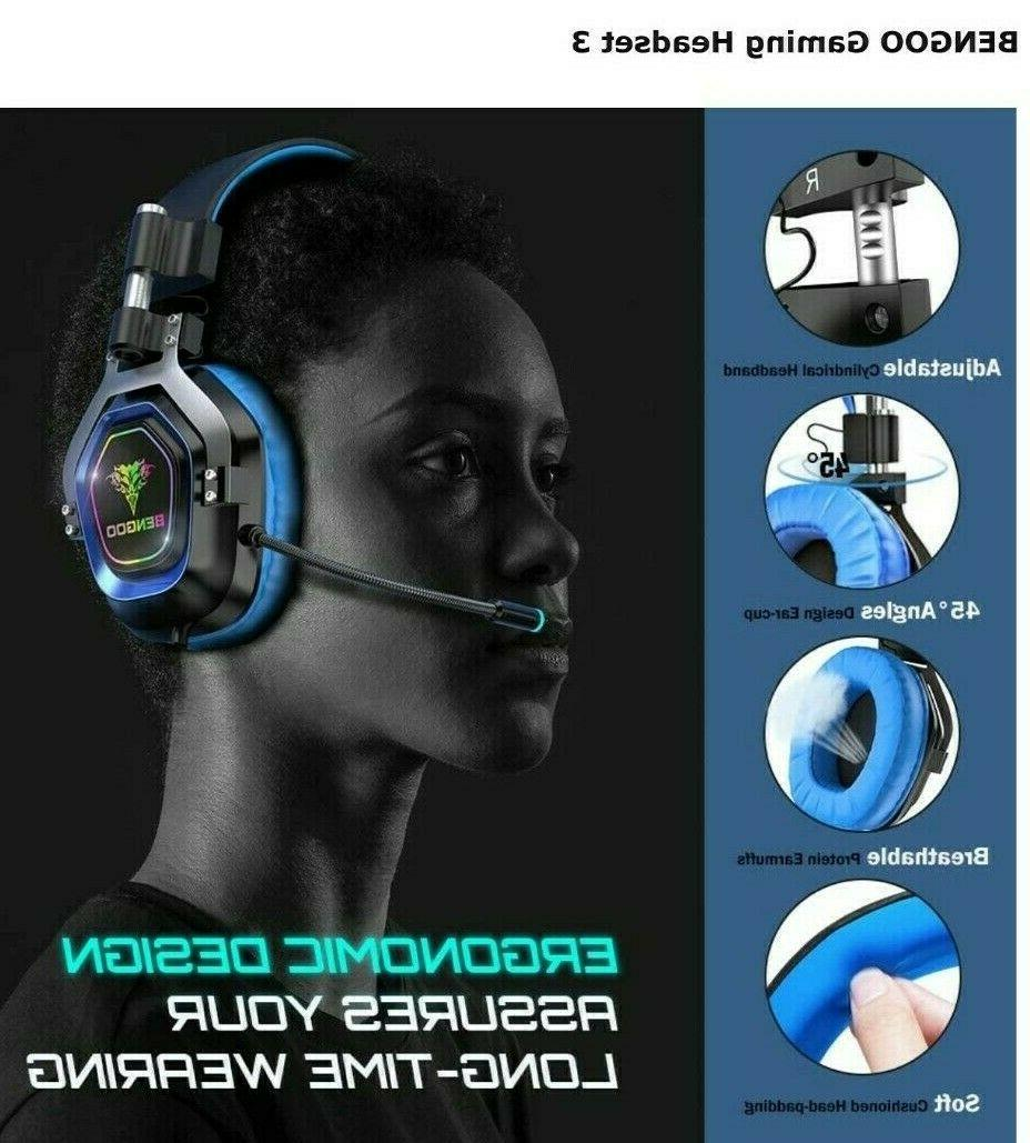 BENGOO Headset for PS4, One