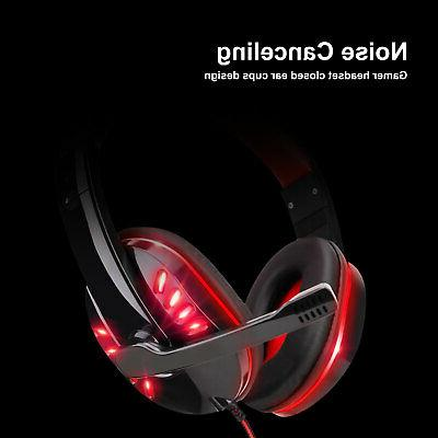 3.5mm Gaming LED Headphones For ONE iPad