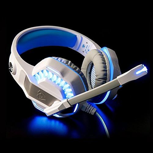 Gaming Headset Xbox One, Over Ear Control/LED for Playstation 4/Laptop/Mac/Computer