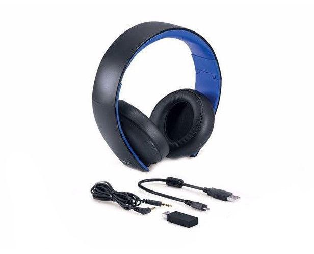gold wireless stereo headset playstation 4 playstation