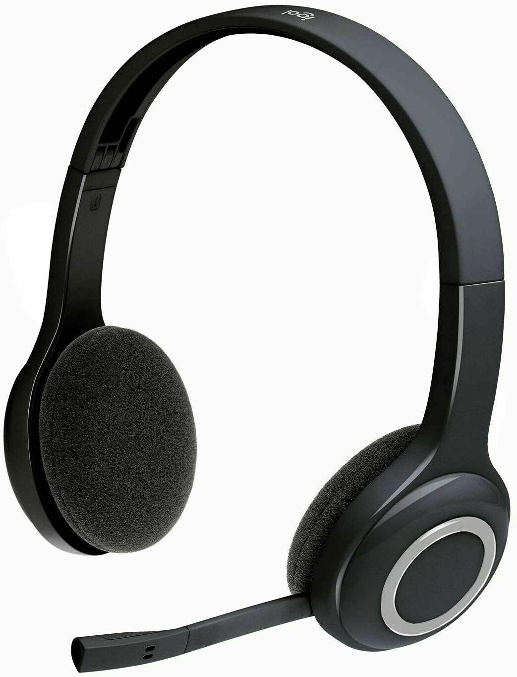 h600 wireless headset noise cancelling mic on
