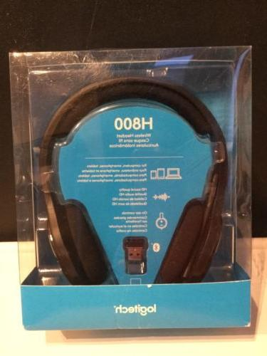 h800 wireless bluetooth headset for pc tablets
