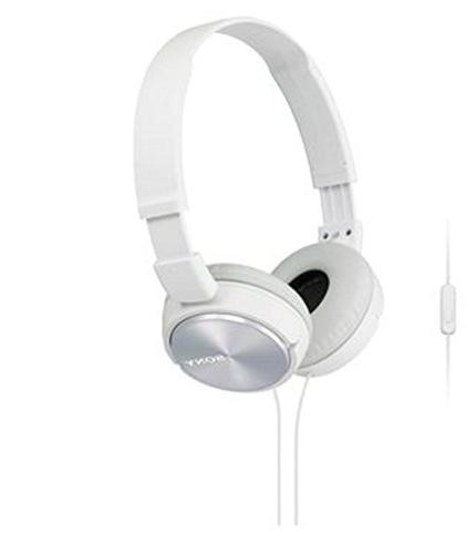 headphone mdr zx 310ap wht