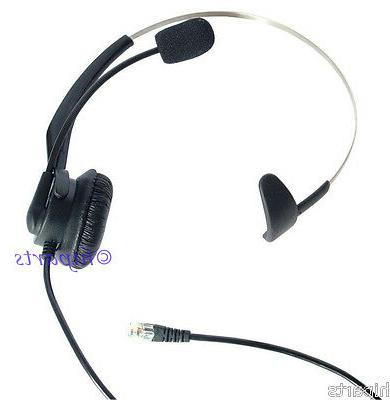 Headset for Yealink T20P T22P T26P T28P Cisco 7902 7905 7910