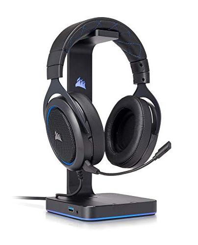 CORSAIR - Stereo Certified Headphones - Designed to with 4 Blue