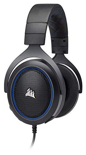 CORSAIR HS50 Gaming Headset Certified to Work with 4 - Blue