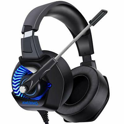 ONIKUMA II Gaming Headset for PS4, Xbox One, PC, Nintendo Sw
