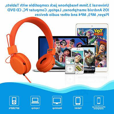 Foldable Kids Mic Stereo Headset Earbuds For Kids Hot