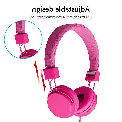 Kids Wired Headphones Foldable for Phone