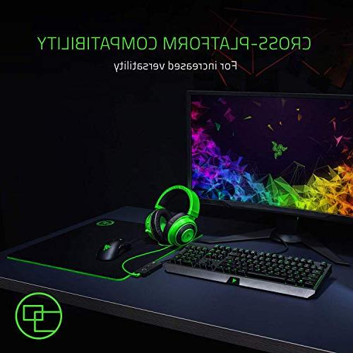 Razer Full Audio Cooling Ear - Gaming Headset with PC, PS4, One, Switch, Devices