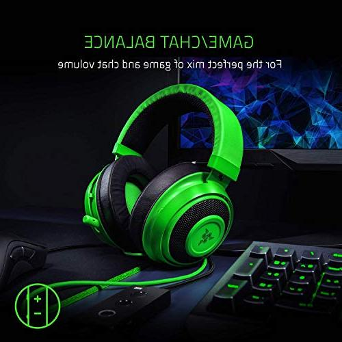 Razer Tournament THX Spatial Audio Full Audio Control Cooling Gel-Infused - with One, Switch, Devices -