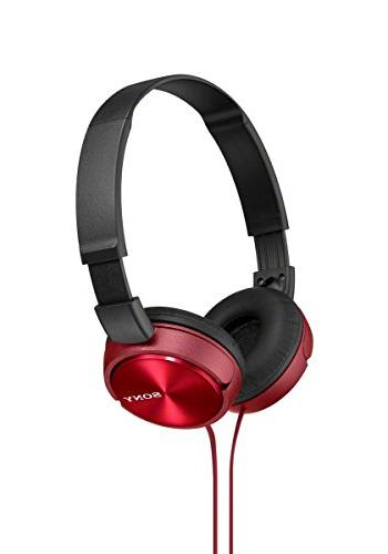 Sony MDR-ZX310 Headphone Red
