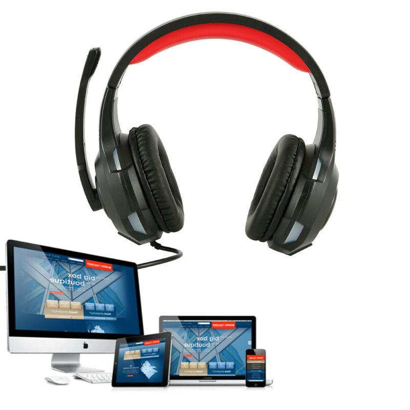 new deluxe headset headphone with microphone