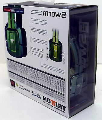 NEW Catz Wireless Swarm Bluetooth PS4/PS3/PC/iPhone 6+ GREEN