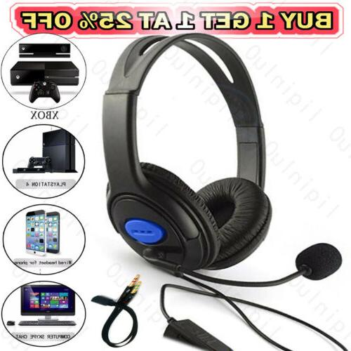 new wired gaming headphones over ear headset