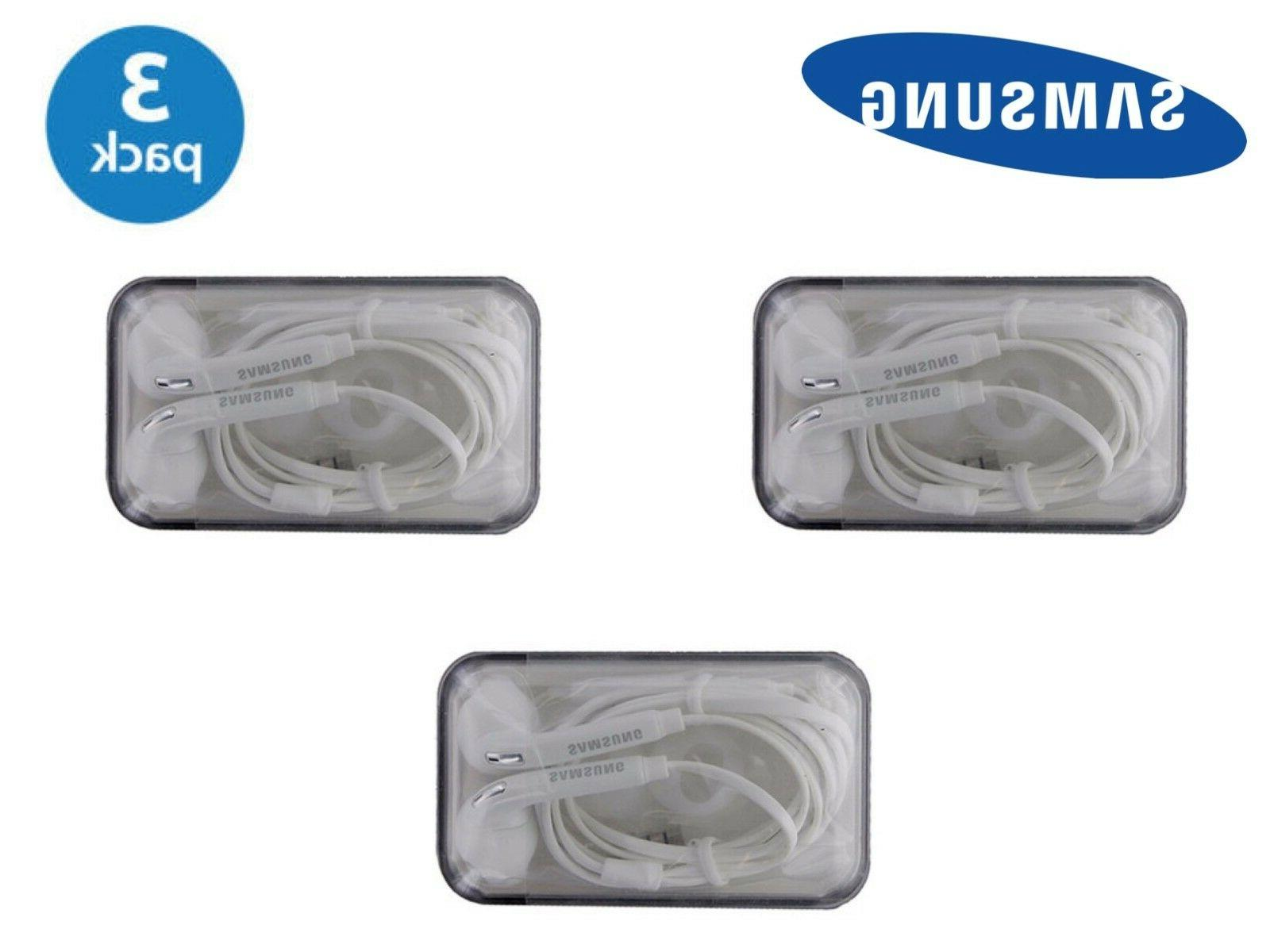 3x Original 5 Headset Earphone EG920BW