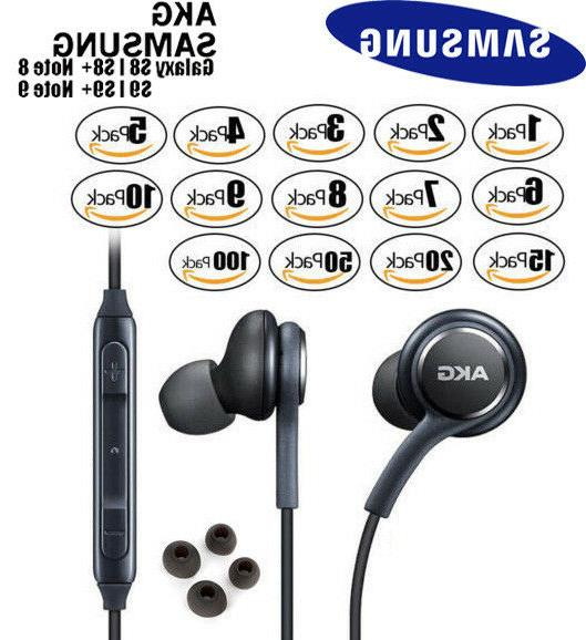 oem s9 s8 note8 9 akg earphones