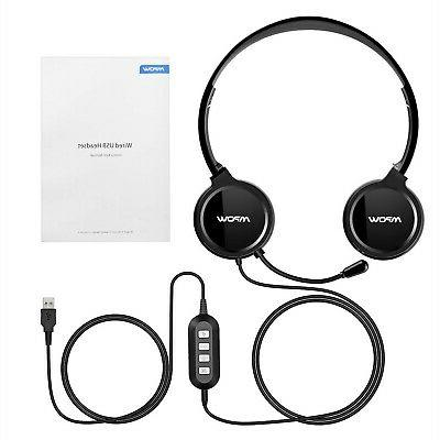 Mpow Headset Mic, Stereo Lightweight On-E
