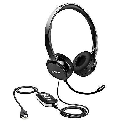 pc headset 3 5mm usb headset noise