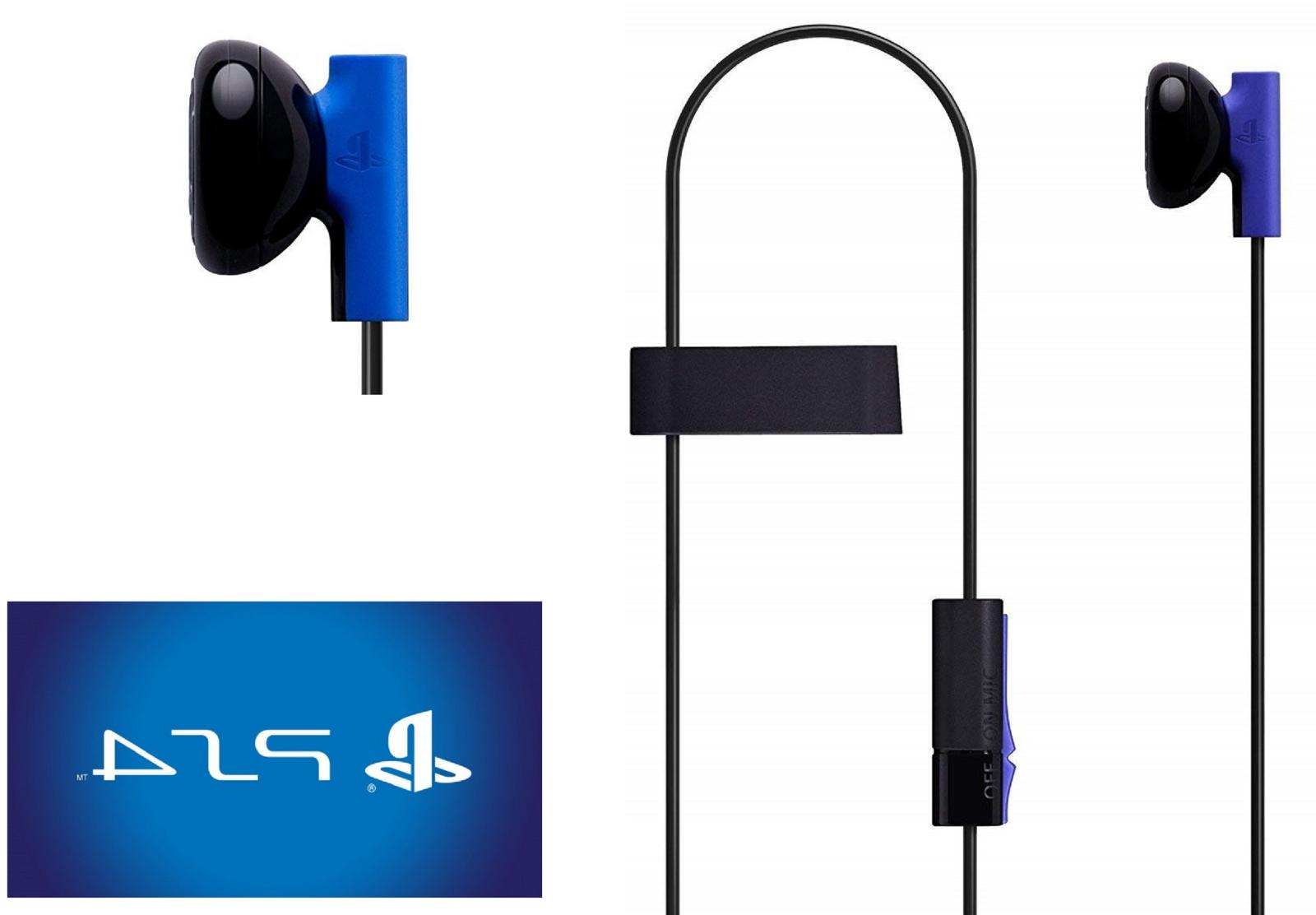 Sony 4 Mono Chat Earbud, Headphone with Mic