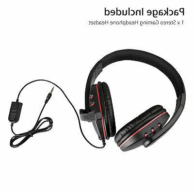 Gaming Headset Stereo Surround Headphone Wired For