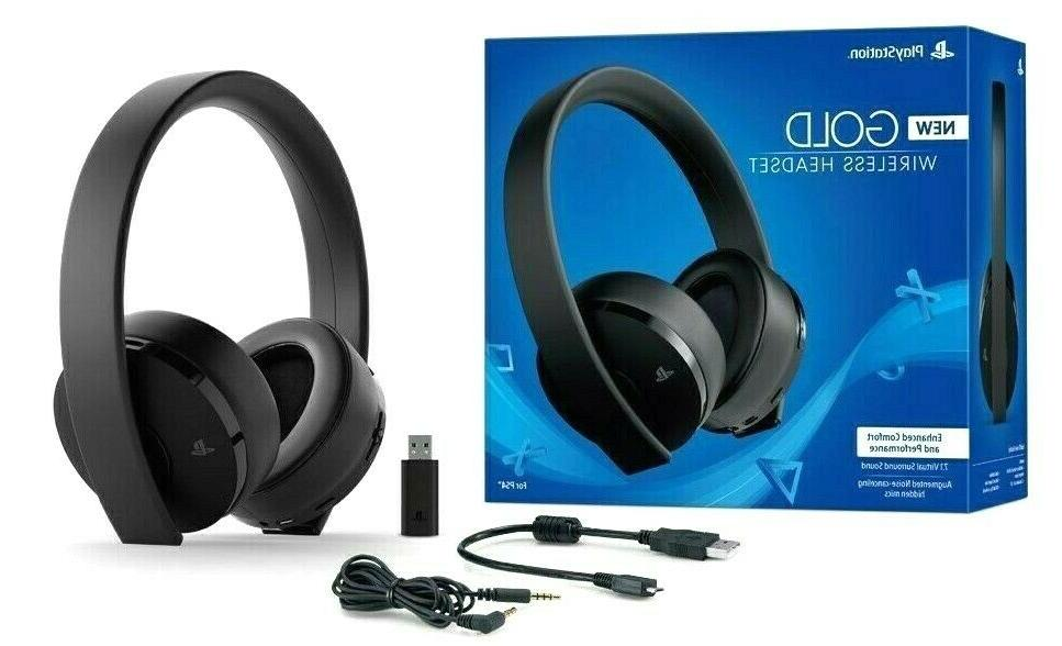 Sony Gold Headset Black - NEW - Same Day Ship by