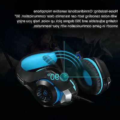 For Switch PC Headphones Headset