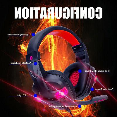 For One Nintendo Wired Gaming Headset Stereo Headphones