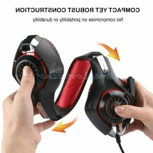 For Gaming Headset Gamers W/Mic
