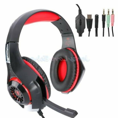 For Xbox One Nintendo Switch PC Gaming Gamers W/Mic