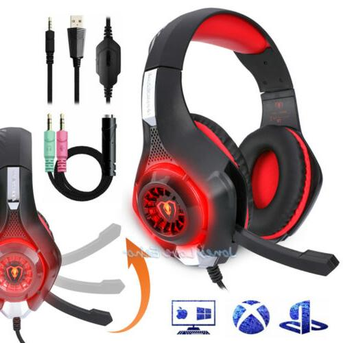 For Xbox Nintendo Switch Gaming Headset W/Mic