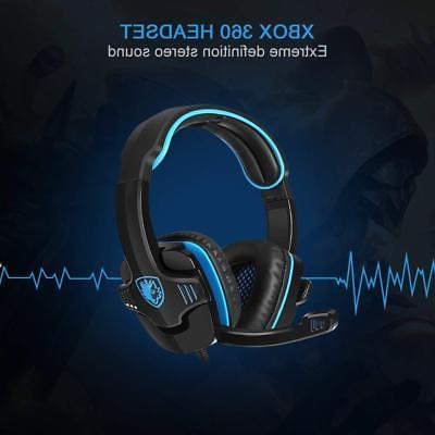 SADES GT Gaming Headset Headphone For PS4 PC Laptop xbox