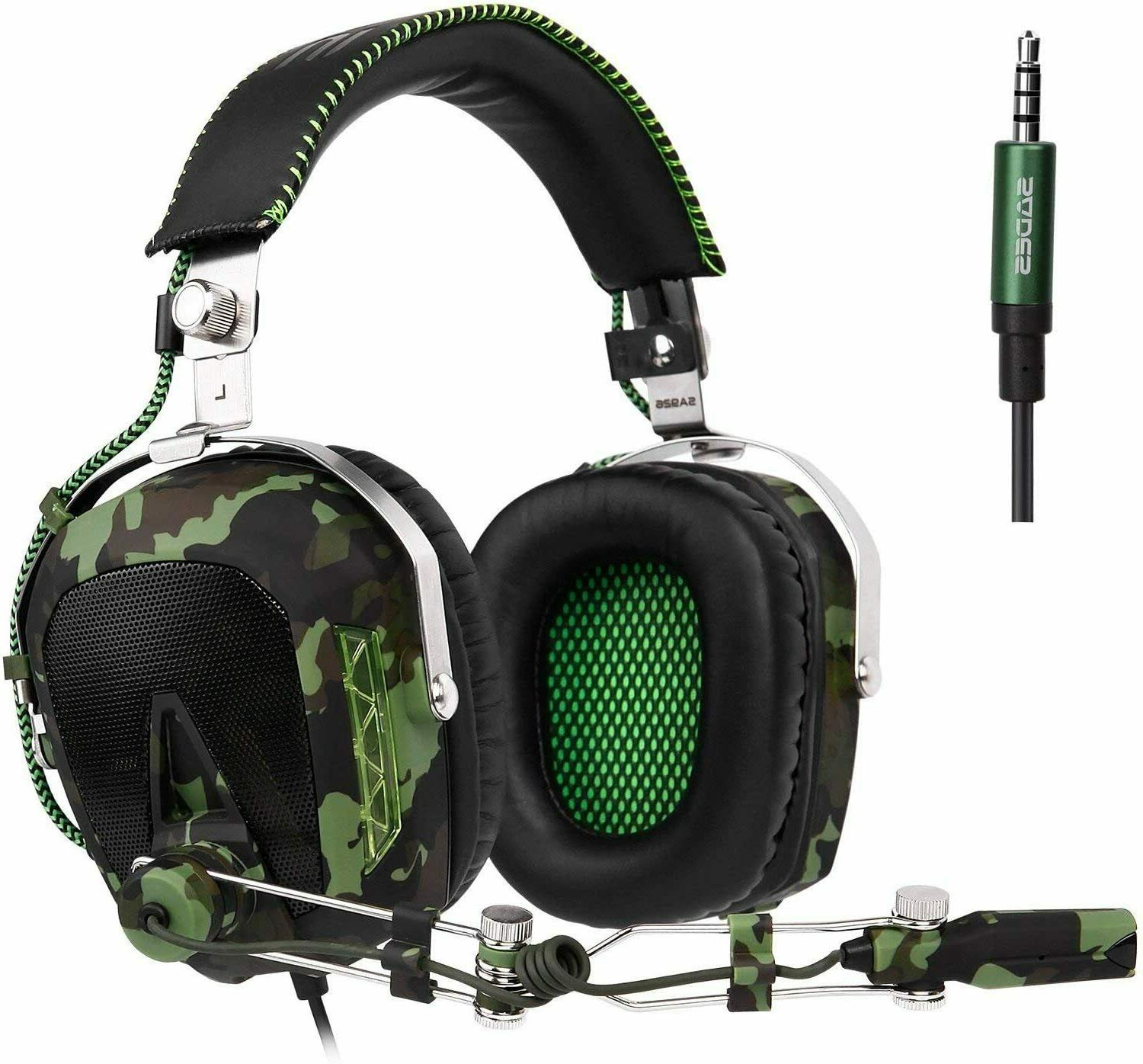 stereo bass gaming headset for ps4 new