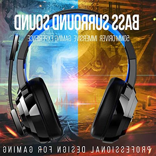 ZIUMIER Stereo Gaming Headset for PS4, PC, Xbox