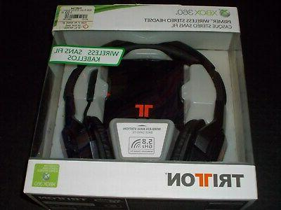 triton tritton primer xbox 360 wireless stereo