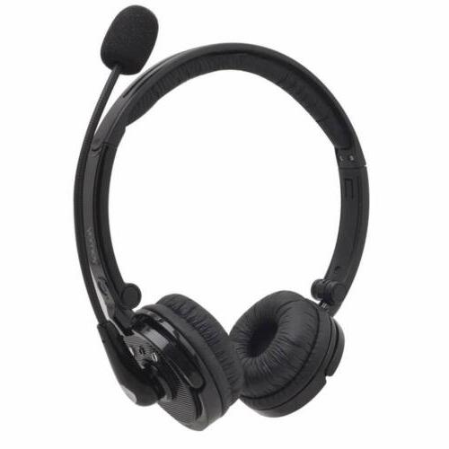 Bluetooth Wireless Headset Truck Driver Noise Cancelling Hea