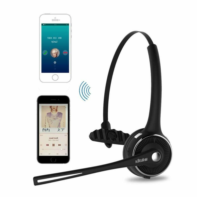 Trucker Bluetooth Headset Willful Wireless Headset With Microphone Charging St