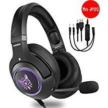 Sentey Gaming Headset for Xbox One,PS4, PC, 3.5mm Stereo Wir