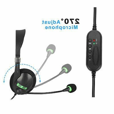 USB Headset with Noise Computer Headset for Chat
